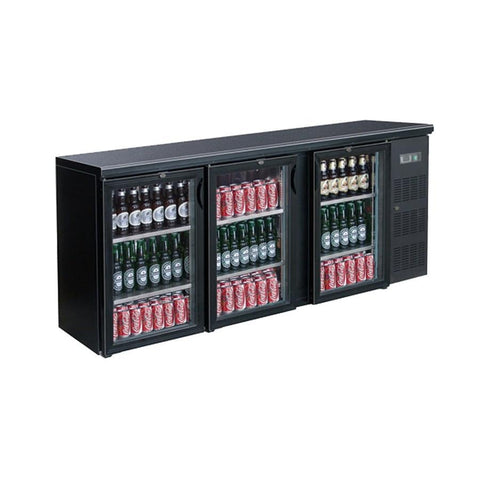 FED Three Door Drink Cooler BC3100G - OzCoolers