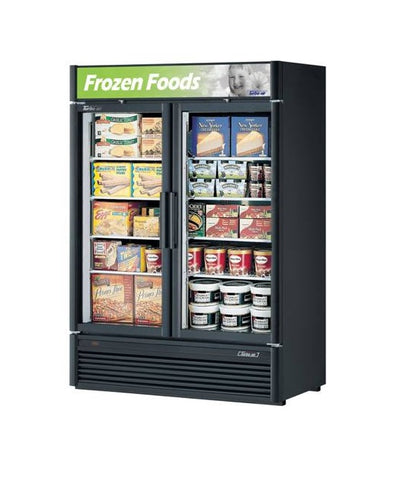 Austune Turbo Air Super Deluxe 2 Door Display Freezer 1308L – TGF-47SD (B)(W) - OzCoolers