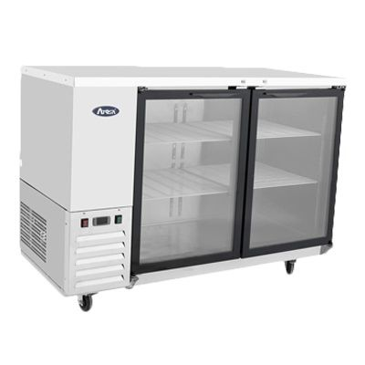 Atosa Refrigerated Back Bar Cooler With Glass Door - MBB48G