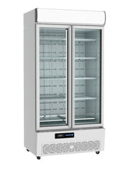 HUXFORD 2 Door Eco Friendly Chiller BMH36 - OzCoolers
