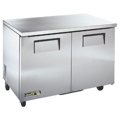 True Undercounter Fridge 2 Door Stainless Steel - OzCoolers