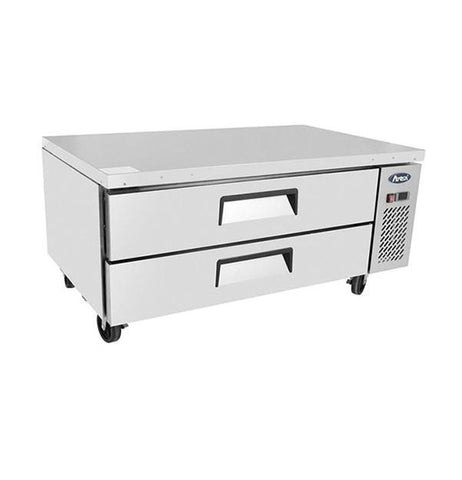 Atosa Low Base Chef's Table 2 Drawer Refrigerator 260L - MGF8450