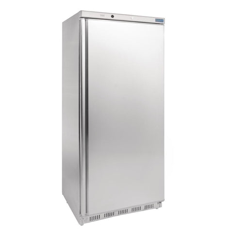 Polar Single Door Freezer 600Ltr Stainless Steel CD085-A - OzCoolers