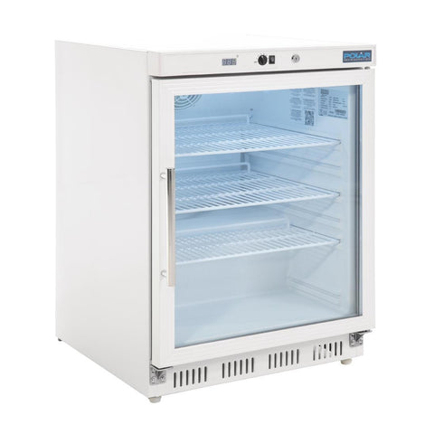 Polar Glass Door Undercounter Fridge 150Ltr CD086-A - OzCoolers