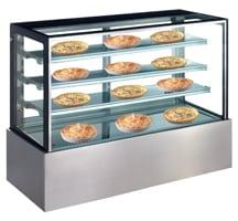 Exquisite Three tiers + base Heated Display Cabinet - CDW1200