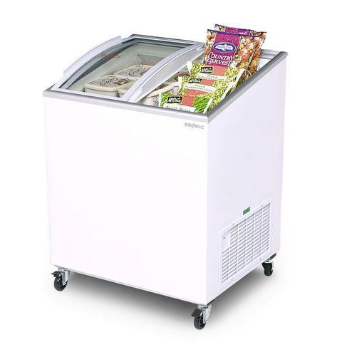 Bromic Angled Glass Top 176L Display Chest Freezer - CF0200ATCG - OzCoolers