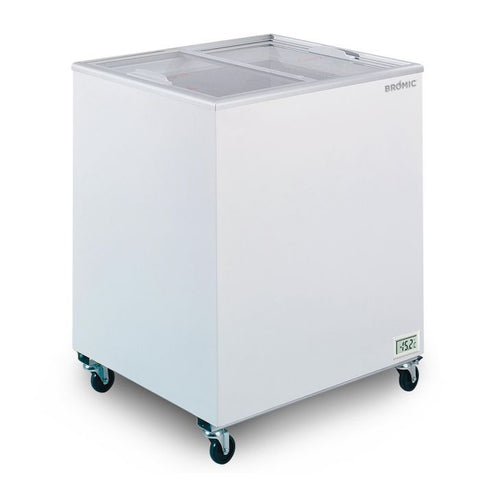 Bromic Flat Glass Top 191L Display Chest Freezer - CF0200FTFG - OzCoolers