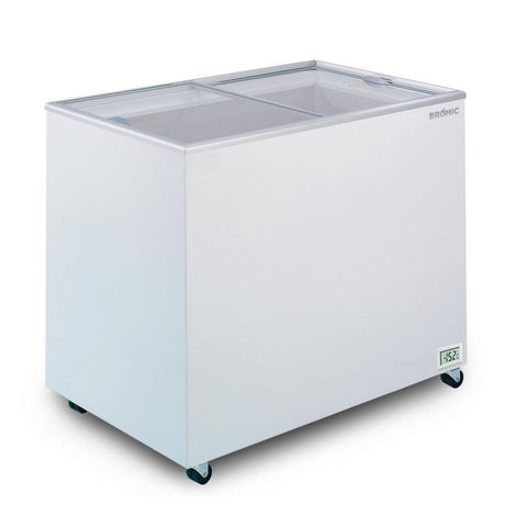 Bromic Flat Glass Top 296L Display Chest Freezer - CF0300FTFG - OzCoolers