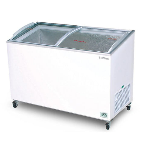 Bromic Angled Glass Top 352L Display Chest Freezer - CF0400ATCG - OzCoolers