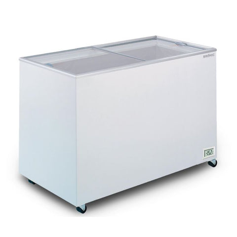 Bromic Flat Glass Top 401L Display Chest Freezer - CF0400FTFG - OzCoolers