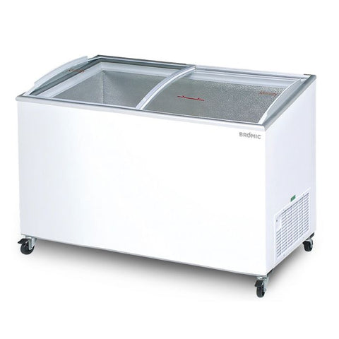 Bromic Angled Glass Top 427L Display Chest Freezer - CF0500ATCG - OzCoolers