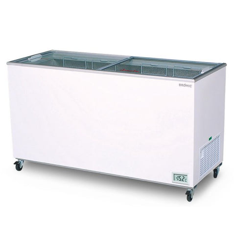 Bromic Flat Glass Top 491L Display Chest Freezer - CF0500FTFG - OzCoolers