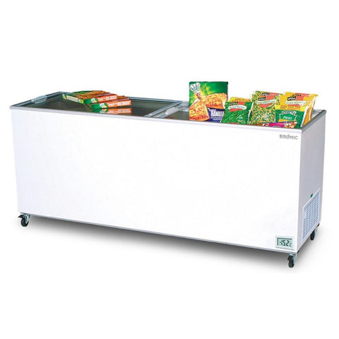 Bromic Flat Glass Top 670L Display Chest Freezer - CF0700FTFG - OzCoolers
