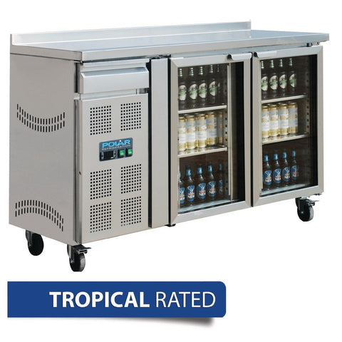 Polar Double Door Premium Bar fridge CK490-A - OzCoolers