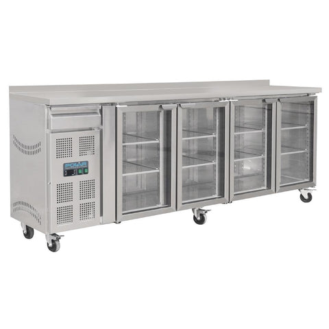 Polar 4 Door Premium Bar Fridge - CK492-A