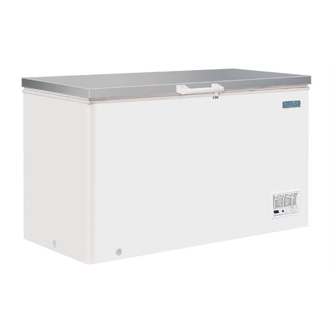 Polar G-Series Chest Freezer with Stainless Steel Lid 385Ltr - CM530-A