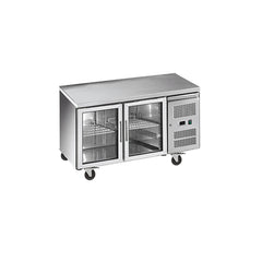 Exquisite Snack Size Under Bench Chiller Glass Doors - SSC260G