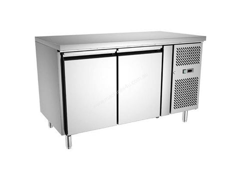 Exquisite Two Door Underbench Fridge - USC260H