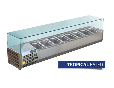 Polar Refrigerated Servery Topper 1800mm GD877-A - OzCoolers