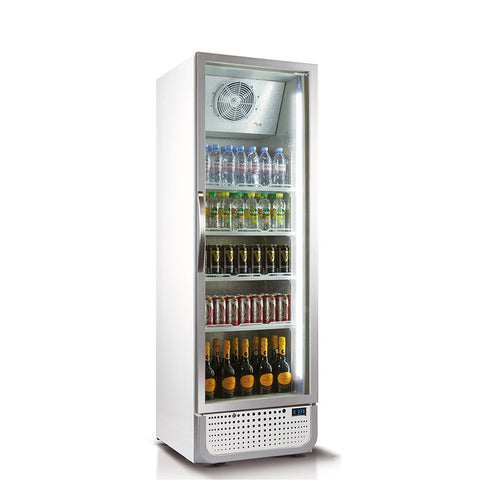 Husky 394L Vertical Glass Door Fridge (White) C5PRO-H-C-WE-AU-HU - OzCoolers