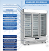 Image of Huxford 3 Door Eco-Friendly Commercial Fridge - BMH45 - OzCoolers