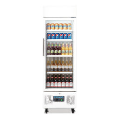 Polar Refrigerator Upright Display Cabinet 218Ltr Glass Door DM075-A - OzCoolers