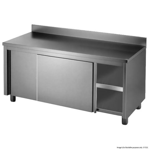 FED Kitchen Tidy Workbench Cabinet with Splashback - DTHT-1500B-H