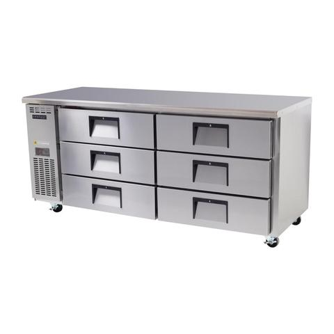 Skope Centaur 6 Drawer Counter Fridge 469 Ltr - BC180-CS-6RRS-E - OzCoolers