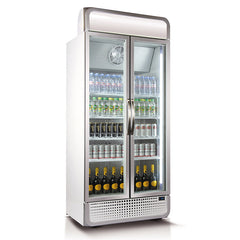 Husky 728L Vertical Glass Door Fridge (White) C8PRO-H-C-WE-AU-HU