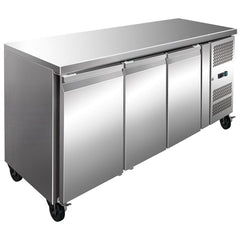 FED Three Door Bench Freezer 386L - FE3100BT