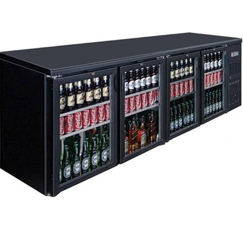 FED Four Door Drink Cooler BC4100G - OzCoolers