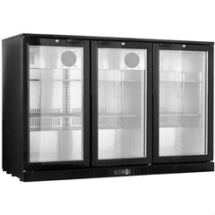 FED Under Counter Three Door Bar Cooler LG-330HC - OzCoolers