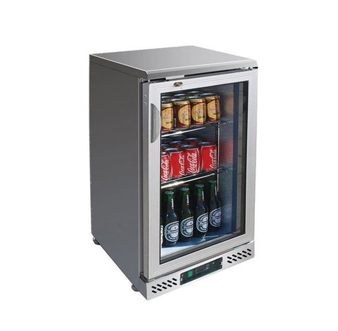 FED Single Door Stainless Steel Drink Cooler - SC148SG - OzCoolers