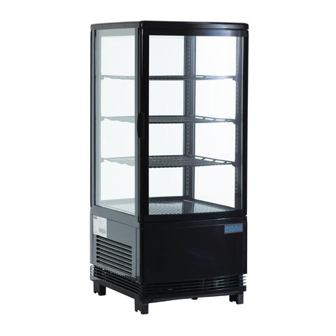 Polar C-Series Display Fridge Black 68Ltr - G211-A