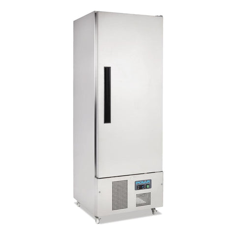 Polar Single Door Slimline Fridge Stainless Steel 440Ltr - G590-A - OzCoolers