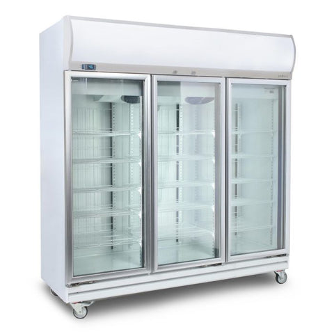 Bromic Flat Glass Door 1507L LED Upright Display Chiller - GD1500LF - OzCoolers