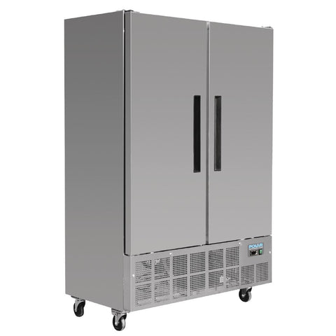 Polar 2 Door Slimline Freezer 960 Ltr - GD880-A - OzCoolers