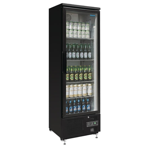 Polar Upright Back Bar Cooler Single Door GJ447-A - OzCoolers