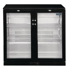 Polar G-Series Back Bar Cooler with Hinged Doors 198Ltr - GL012-A