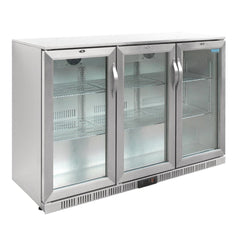 Polar G-Series Back Bar Cooler with Hinged Doors Stainless Steel 330Ltr - GL009-A