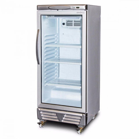 Bromic LED ECO Flat Glass 215L Upright Display Chiller - GM0220 - OzCoolers