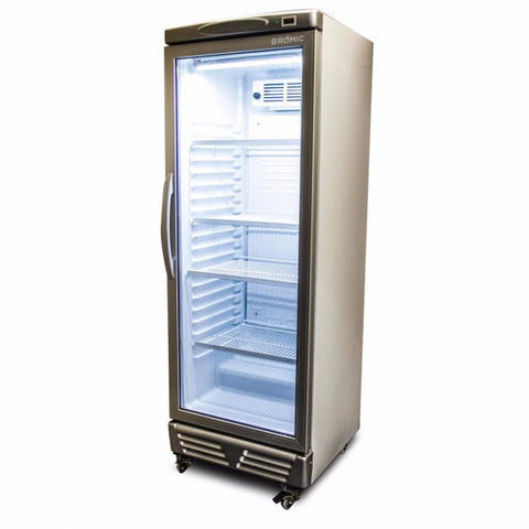 Bromic LED ECO Flat Glass Door 290L Upright Display Chiller - GM0300 - OzCoolers