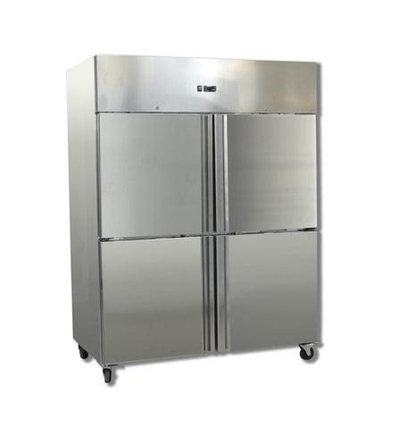 FED GRAND ULTRA Four 2/1 S/S Door Upright Fridge - GN1410TNM - OzCoolers