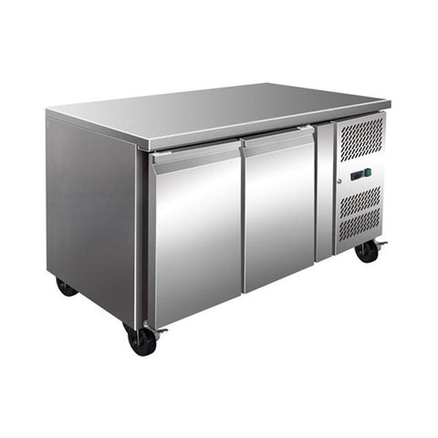 FED TROPICALISED 2 Door Gastronorm Bench Freezer - GN2100BT