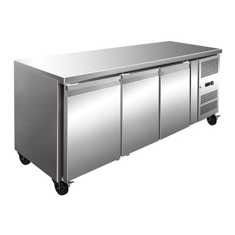 FED TROPICALISED 3 Door Gastronorm Bench Fridge - GN3100TN