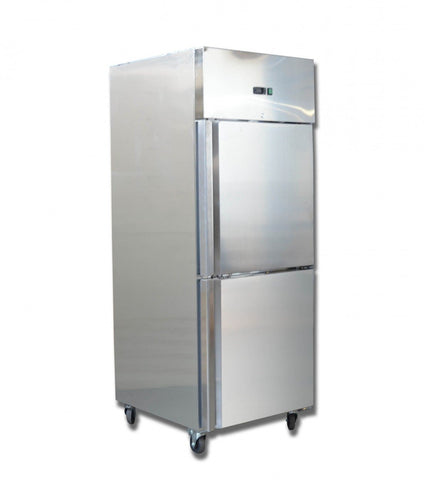 FED GRAND ULTRA Double 1/2 S/S Door Upright Fridge 685L - GN650TNM - OzCoolers