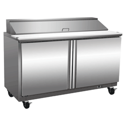 Exquisite Two Door Sandwich / Salad Preparation Chiller 527 Litres - ICC550H