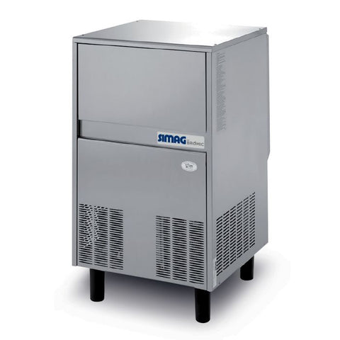 Bromic Self-Contained 70kg Flake Ice Machine - IM0070FSCW - OzCoolers