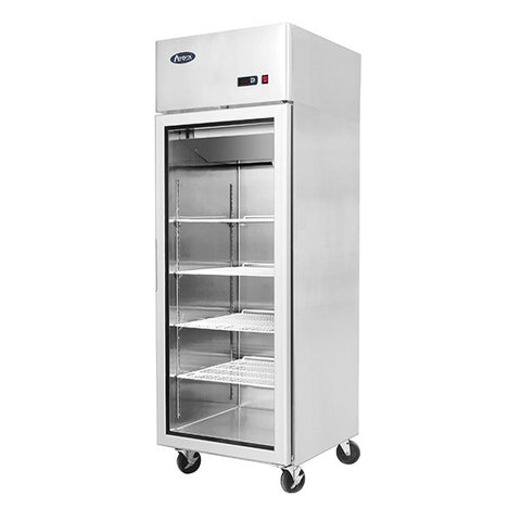 Atosa Single Glass Door Display Fridge - MCF8604 - OzCoolers