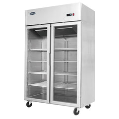 Atosa 2 Glass Door Display Freezer - MCF8602 - OzCoolers